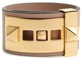 Valentino Garavani Women's Rockstud Calfskin Leather Bracelet