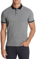 HUGO BOSS Micro-Houndstooth Slim Fit Polo Shirt