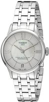 Tissot Women's T0992071111800 T-Classic Analog Swiss Automatic Silver-Toned Stainless Steel Watch