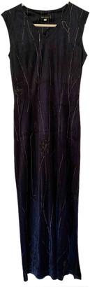 Anna Sui Navy Velvet Dresses