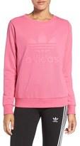 adidas Women's 'Trefoil' Crewneck Sweatshirt