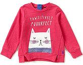 Joules Baby/Little Girls 12 Months-3T Mart Screenprint Sweatshirt