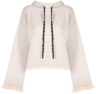 Zoe Jordan fringed hoodie