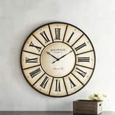 Pier 1 Imports Magnolia Home Village Wall Clock