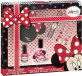 Disney Minnie Mouse Gift Set with Eau De Toilette Spray 1 oz, Nail Enamel, and Nail Accessories by by