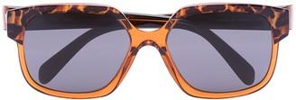 Celine Maillons Triomphe square-frame sunglasses