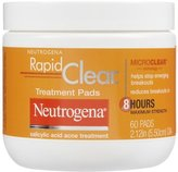 Neutrogena Rapid Clear Daily Treatment Pads - 60 ct