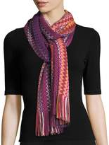 Missoni Ripple-Stitch Scarf