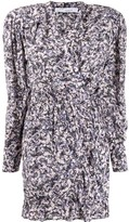 IRO fitted floral mini dress