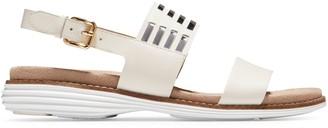 Cole Haan Original Grand Huarache Leather Slingback Sandals