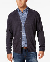 Weatherproof Vintage Men's Big and Tall Soft-Touch Cardigan, Classic Fit