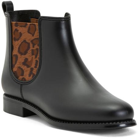 Leopard Rain Boots | Shop the world's