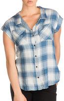 Guess Danielle Plaid Shirt