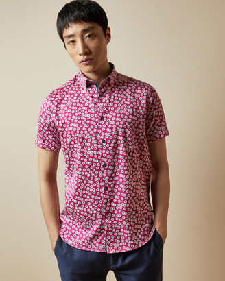 Ted Baker RELAX Cotton floral shirt
