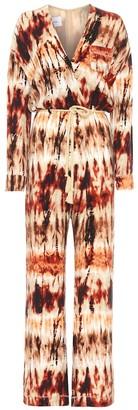 Nanushka Jax tie-dye wide-leg jumpsuit