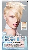 L'Oreal Hair Color Feria Multi-Faceted Shimmering Color, 11.11 Icy Blonde (Ultra Cool Blonde)