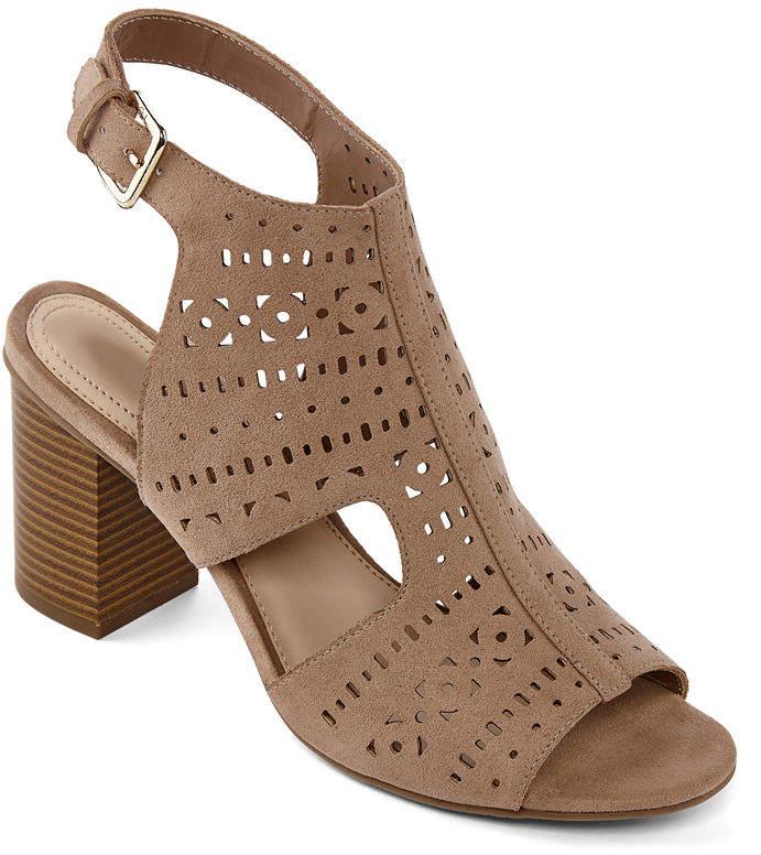 c5327e6381c Liz Claiborne Brown Women s Sandals - ShopStyle