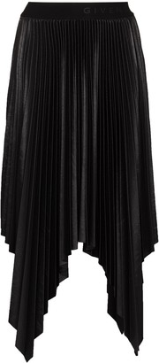 Givenchy Asymmetric Pleated Skirt