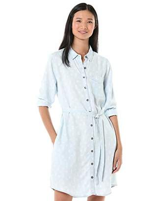 Goodthreads Tencel Long-Sleeve Shirt Dress Casual,XXL