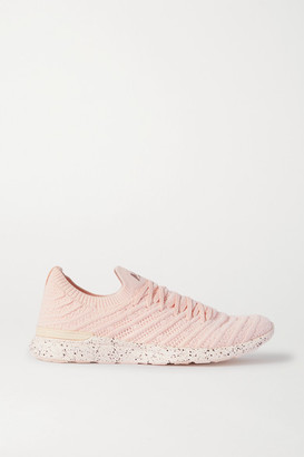 APL Athletic Propulsion Labs Techloom Wave Mesh Sneakers - Baby pink