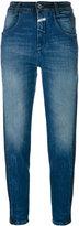 Closed Brocken Stitches cropped jeans - women - Cotton/Spandex/Elastane - 25