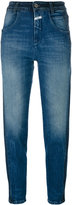 Closed Brocken Stitches cropped jeans