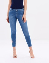 Dorothy Perkins Darcy Floral Embroidered Jeans