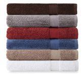Bed Bath & Beyond Chevron Border Pima Cotton 3-Piece Towel Set