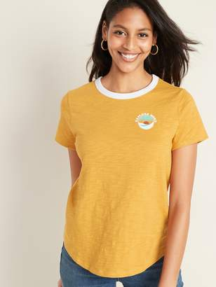 """Old Navy EveryWear """"Explore More"""" Graphic Tee for Women"""