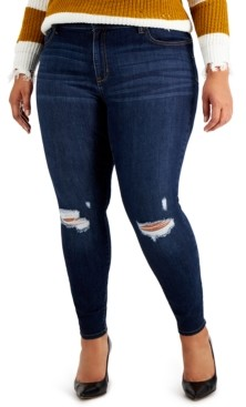 Celebrity Pink Trendy Plus Size Kimi Sculpting Skinny Jeans