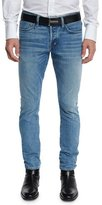 Tom Ford Slim-Fit Punk Pale Denim Jeans, Light Blue