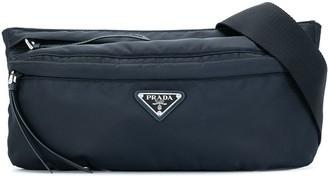 Prada Pre-Owned Triangular Logo Belt Bag