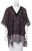 Proenza Schouler Printed Cover-Up Caftan w/ Tags