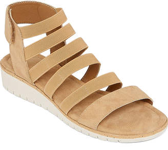 ST. JOHN'S BAY Womens Fawzi Wedge Sandals