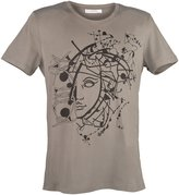 Versace Printed Grey Short Sleeve T-Shirt