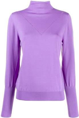 Victoria Victoria Beckham peek-a-boo jersey jumper