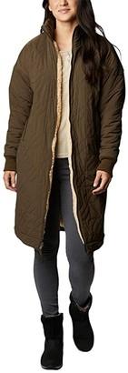 Columbia Kinzu Pointtm Reversible Jacket (Black/Ceramic Sherpa) Women's Clothing