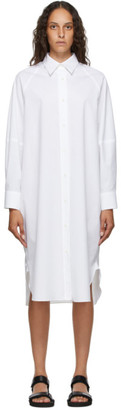 Arch The White Cotton Shirt Dress