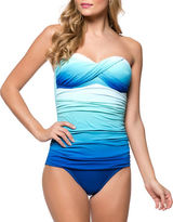 Bleu By Rod Beattie One-Piece Fun In The Sun Twist Bandini Mio Swimsuit