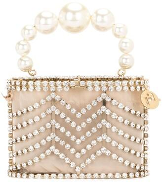 Rosantica Embellished Mini Bag