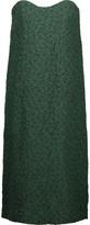 Nina Ricci Strapless silk-blend cloqué dress