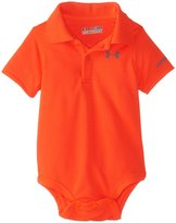 Under Armour Baby-Boys Newborn Polo Bodysuit, Bolt, 3-6 Months