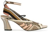 Fendi technical mesh sandals