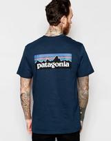 Patagonia T-shirt With P-6 Back Print Regular Fit