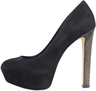 Brian Atwood Black Suede Pumps Size 37