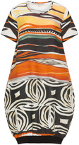 Isolde Roth Plus Size Printed linen balloon dress
