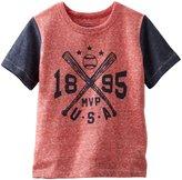 Osh Kosh Baseball Tee (Baby) - Red-9 Months