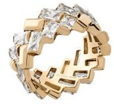 Michael Kors Crystal, Cubic Zirconia and Stainless Steel Ring