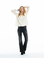 Scotch & Soda High Waist Flare Jeans | Black Rooster