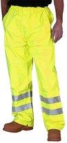 Fashion Box Mens Hi Viz Waterproof Rain Over Trousers High Vis Visibility Pants